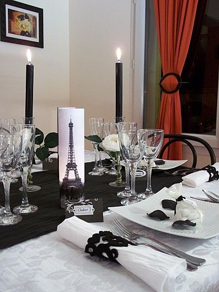 Decoration de mariage paris blog photo de mariage en 2017 - Deco mariage theme paris ...