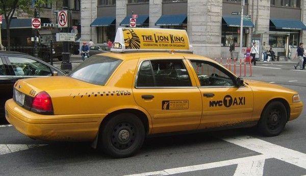 taxi jaune. Black Bedroom Furniture Sets. Home Design Ideas